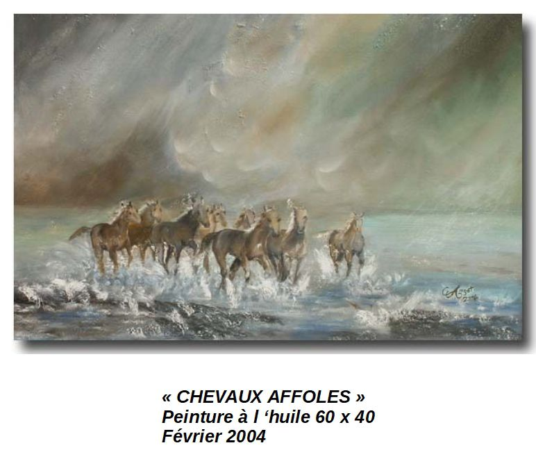 'CHEVAUX AFFOLES'
